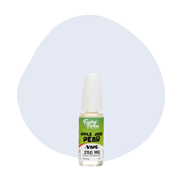 Funky Farms CBD Vape Apple Jack Pear 250mg - ErthBay