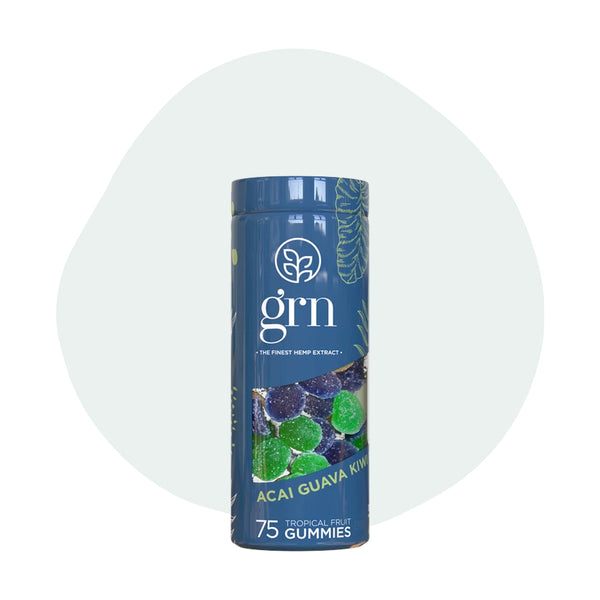 GRN CBD Gummies Exotic Fruit - ErthBay