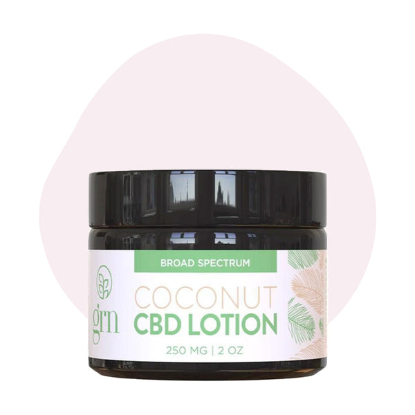 GRN CBD Infused Lotion Coconut - ErthBay
