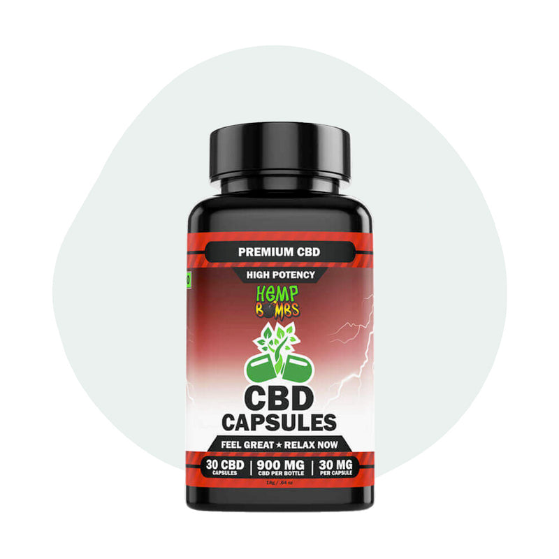 Hemp Bombs CBD Capsules High Potency 900mg - ErthBay