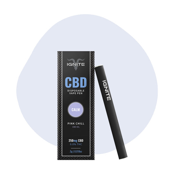 IGNITE CBD Vape Pen Pink Chill Calm - ErthBay