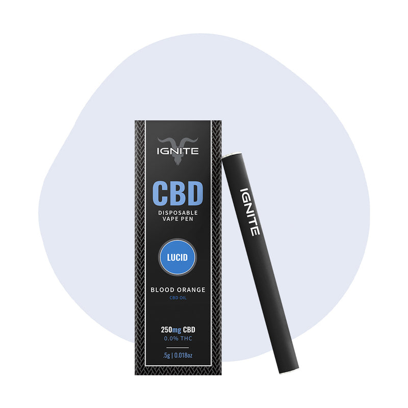 IGNITE CBD Vape Pen Blood Orange Lucid - ErthBay