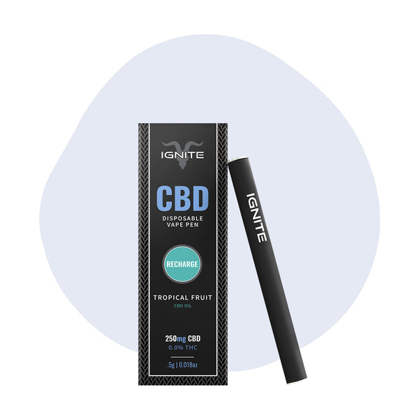 IGNITE CBD Vape Pen Tropical Fruit Recharge - ErthBay
