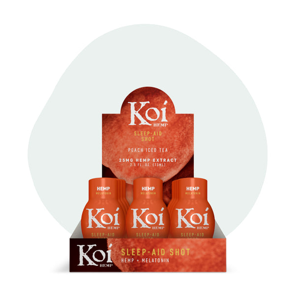 Koi CBD Drink Shot Peach Iced Tea 25mg - ErthBay