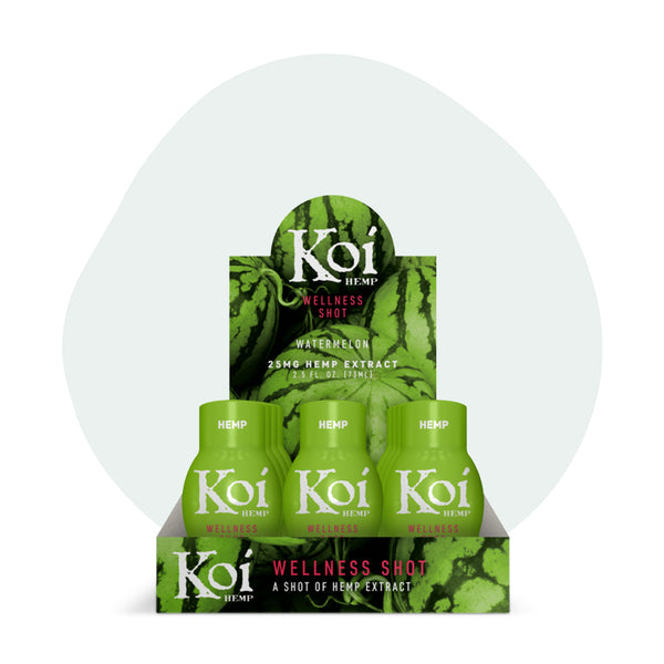 Koi CBD - CBD Drink Shot - Watermelon - 25mg