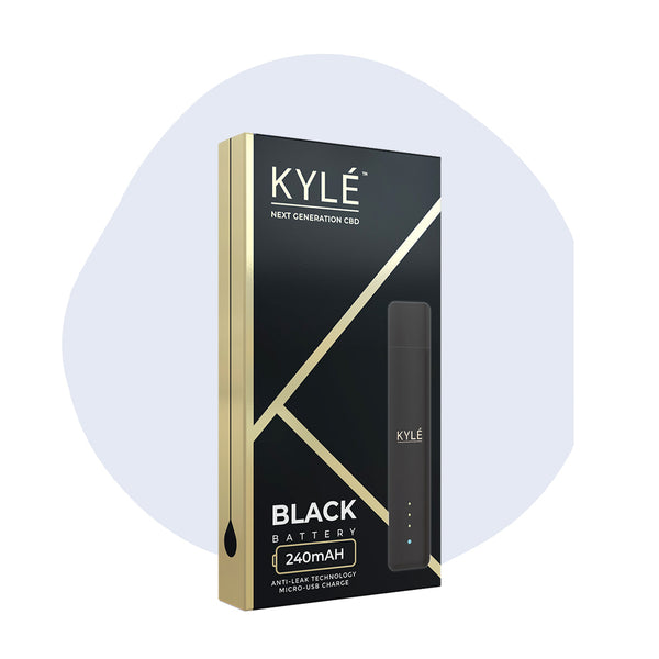 KYLE CBD Device Matte Black - ErthBay