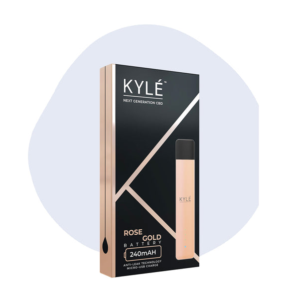 KYLE CBD Device Rose Gold - ErthBay