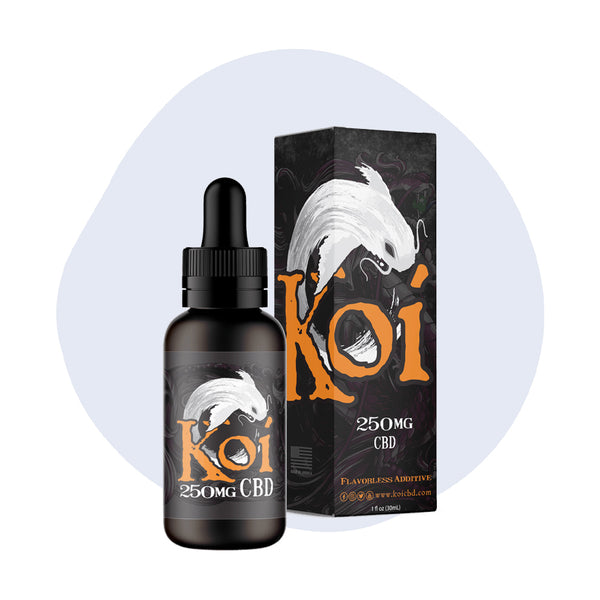 Koi CBD Vape Juice White Koi 250mg - ErthBay
