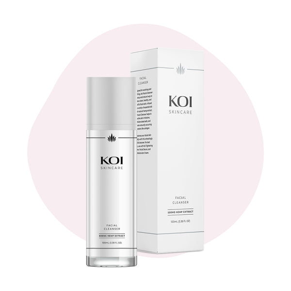 Koi CBD Topical Facial Cleanser 500mg - ErthBay