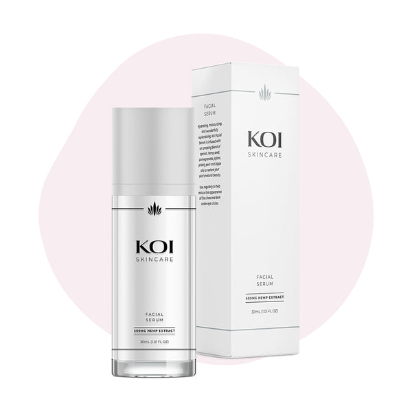 Koi CBD Topical Facial Serum 500mg - ErthBay