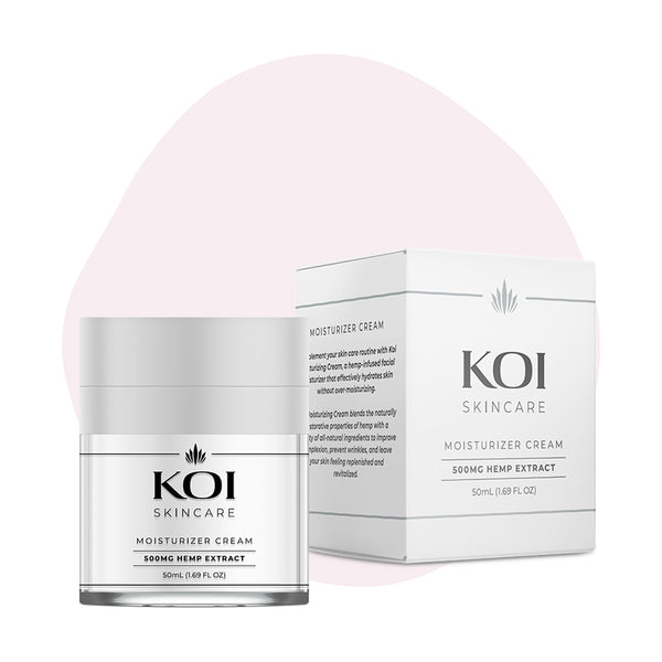 Koi CBD Topical Moisturizer Cream 500mg - ErthBay