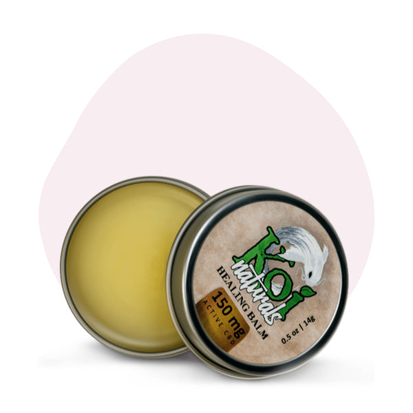 Koi CBD CBD Topical Travel Size Healing Balm 150mg - ErthBay