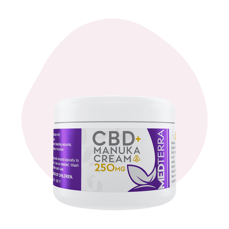 Medterra CBD Manuka Cream 250mg - Erthbay