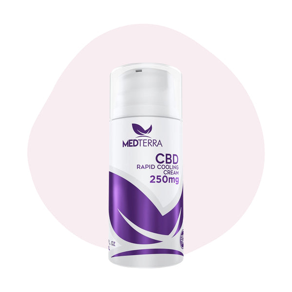 Medterra CBD Rapid Cooling Cream 250mg - ErthBay