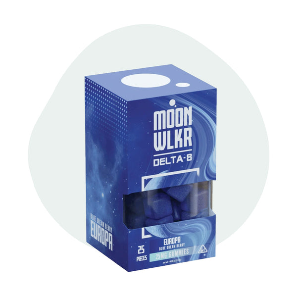 MoonWLKR Delta-8 THC Europa Gummies 625MG - Erthbay