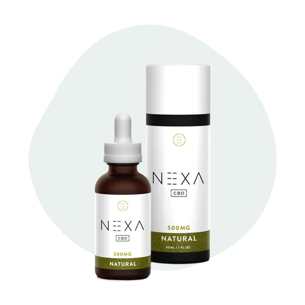 Nexa CBD Tincture Natural 500mg - ErthBay