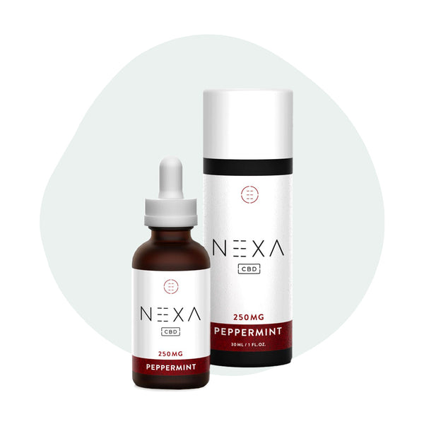 Nexa CBD Tincture Peppermint 250mg - ErthBay