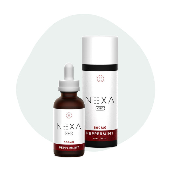 Nexa CBD Tincture Peppermint 500mg - ErthBay