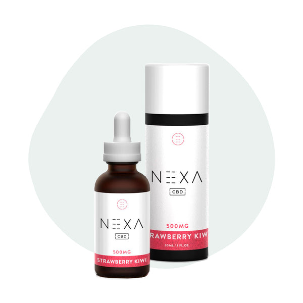 Nexa CBD Tincture Strawberry Kiwi 500mg - ErthBay