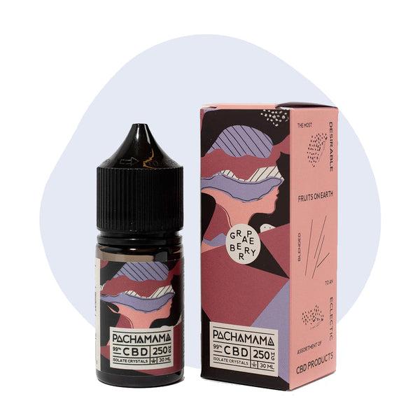 PachaMama CBD Vape Juice Grape Berry - ErthBay