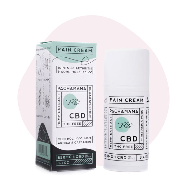 Pachamama CBD Topical Pain Cream 850mg - ErthBay