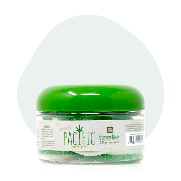 Pacific CBD Edible Gummy Rings 25mg - ErthBay
