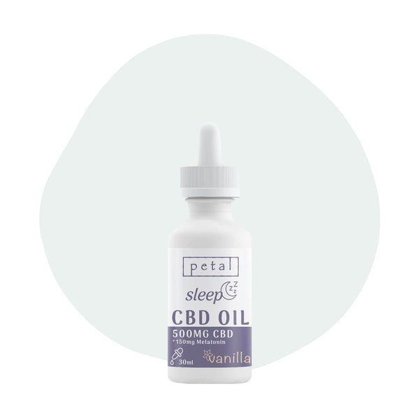 Petal CBD Sleep Tincture Vanilla 500mg - ErthBay