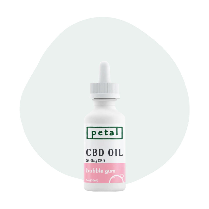 Petal CBD Tincture Bubble Gum 500mg - ErthBay
