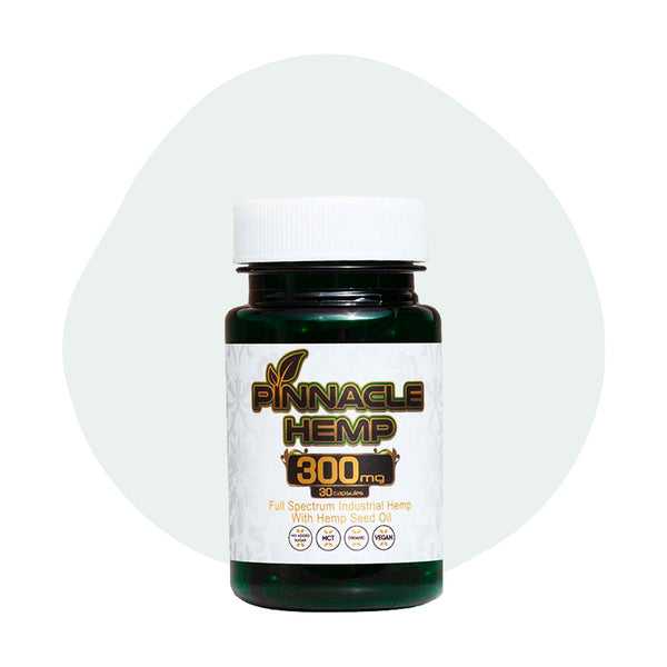 Pinnacle Hemp CBD Capsule Full Spectrum 10mg - ErthBay