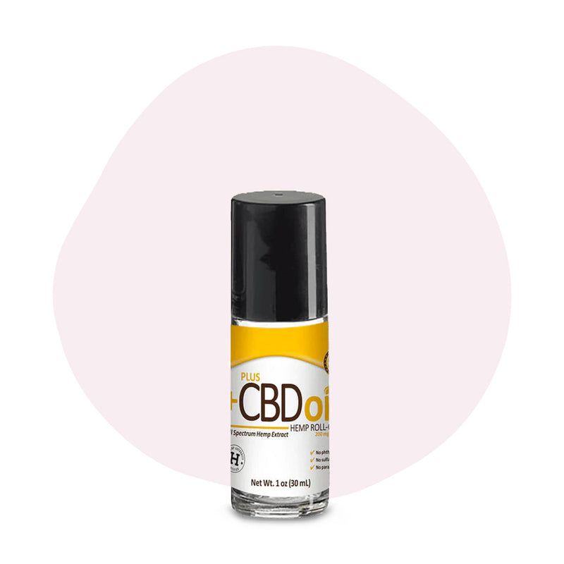 PlusCBD Oil CBD Topical Gold Roll On Relief 200mg - ErthBay