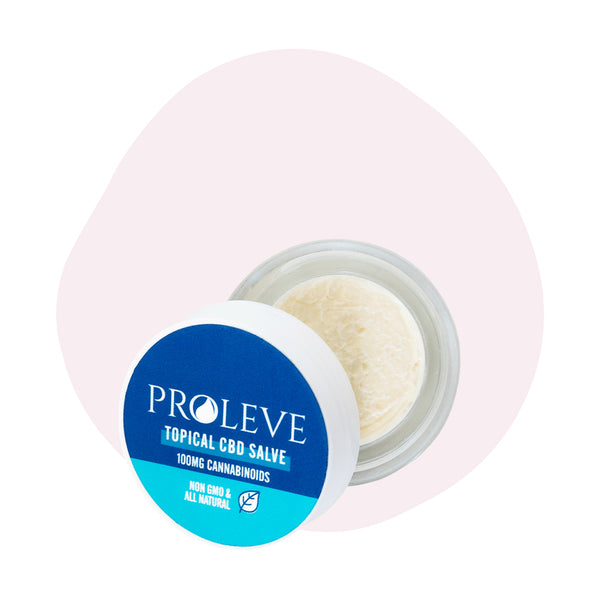 Proleve CBD Topical Travel Size Salve 100mg - ErthBay