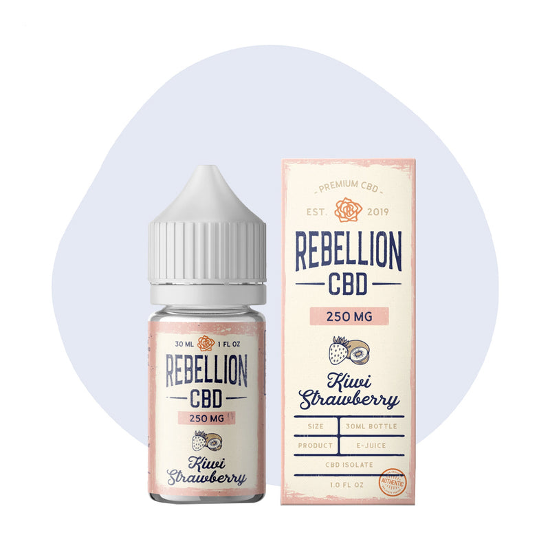 REBELLION CBD Kiwi Strawberry E-Juice - ErthBay