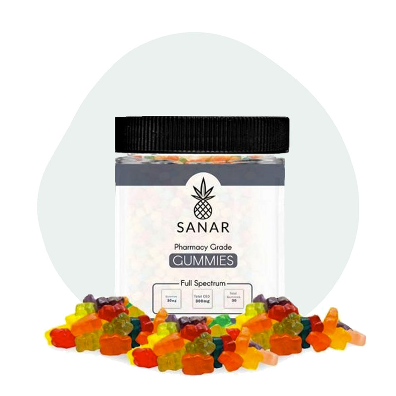 Sanar CBD Edible Full Spectrum Gummies 300mg - ErthBay
