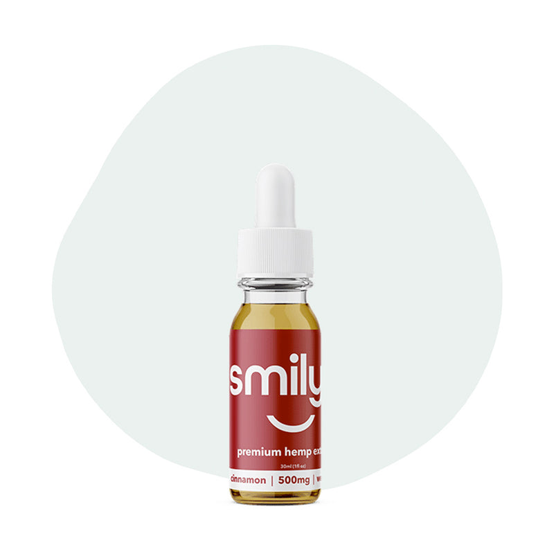 Smilyn CBD Tincture Cinnamon 500mg - ErthBay