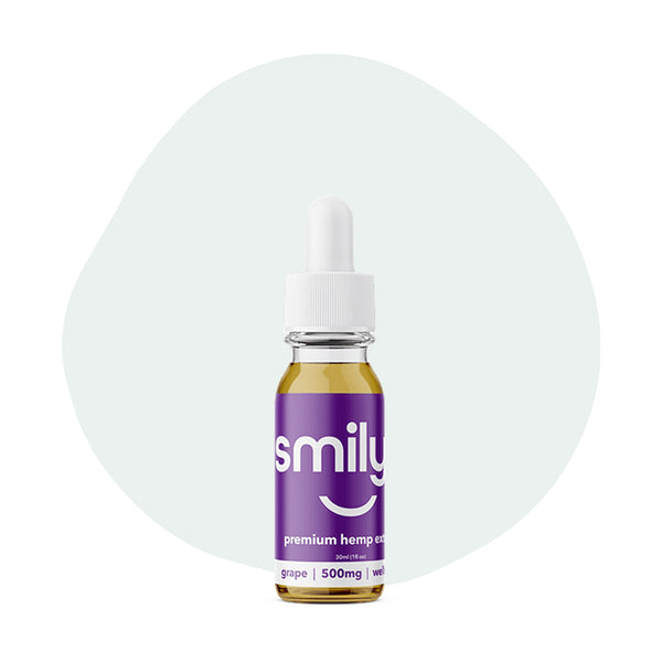 Smilyn CBD Tincture Grape 500mg - ErthBay