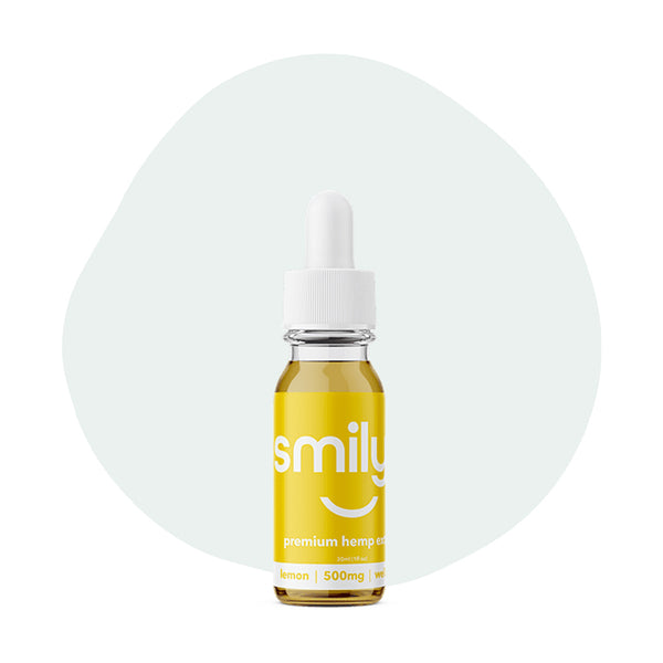 Smilyn CBD Tincture Lemon 500mg - ErthBay