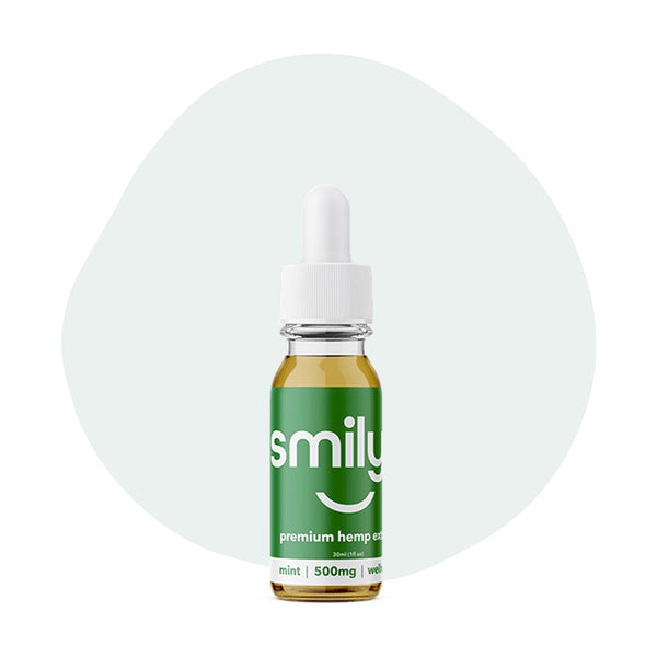 Smilyn CBD Tincture Mint 500mg - ErthBay