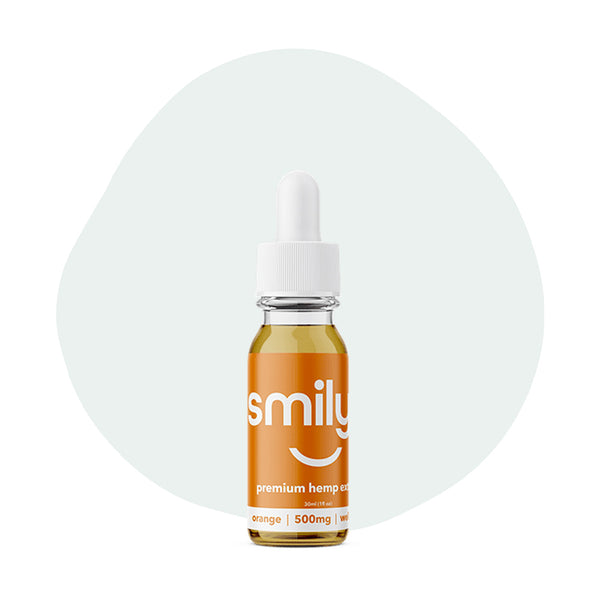 Smilyn CBD Tincture Orange 500mg - ErthBay