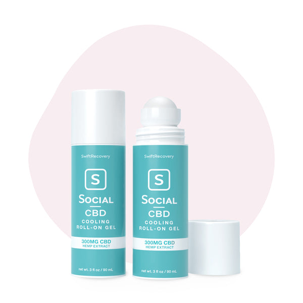 Social CBD Cooling Roll-On Gel - ErthBay