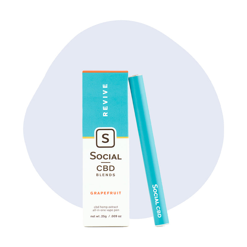 Social CBD Vape Pen Revive Grapefruit - ErthBay