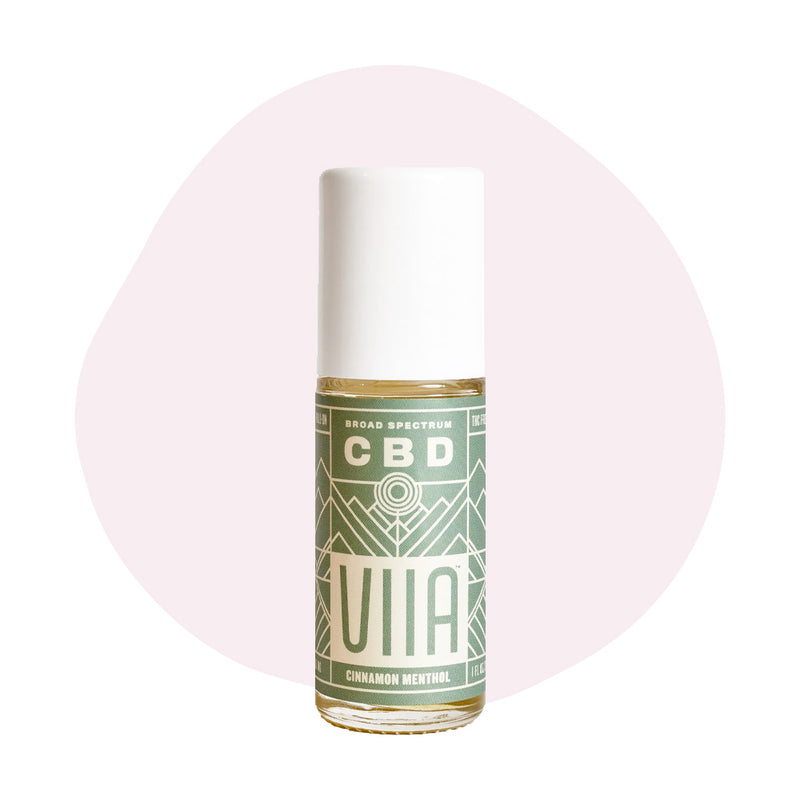 VIIA CBD Topical Roll-On Cinnamon Menthol 250mg - ErthBay