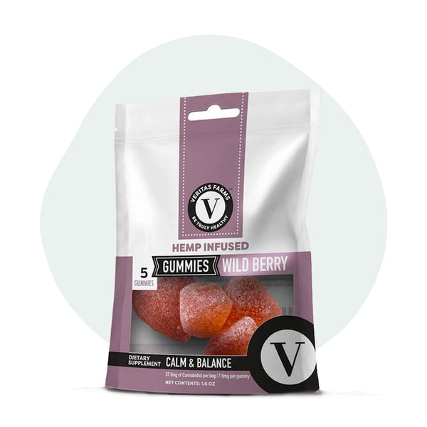 Veritas Farms CBD Edible Wild Berry Gummies - ErthBay