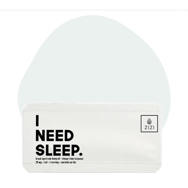ZIZI Snaps CBD Tincture I Need Sleep Snap 20mg - ErthBay