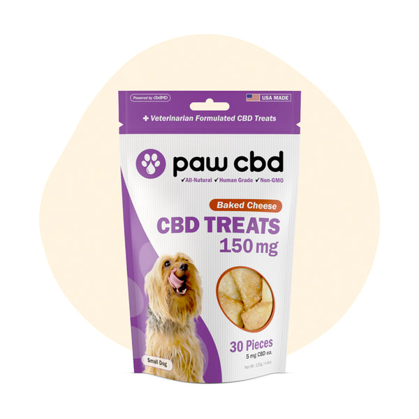 cbdMD CBD Pet Edible Baked Cheese Dog Treats 150mg - ErthBay