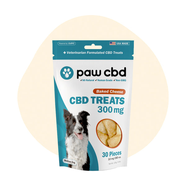 cbdMD CBD Pet Edible Baked Cheese Dog Treats 300mg - ErthBay