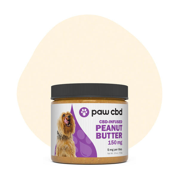 cbdMD CBD Pet Edible Peanut Butter 150mg - ErthBay