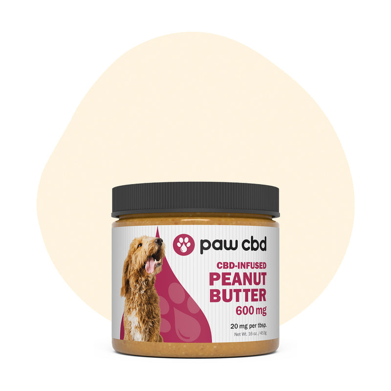 cbdMD CBD Pet Edible Peanut Butter 600mg - ErthBay