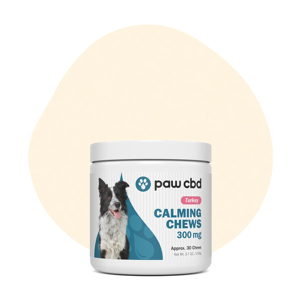 cbdMD CBD Pet Treats Turkey Canine Calming Chews 300mg - ErthBay