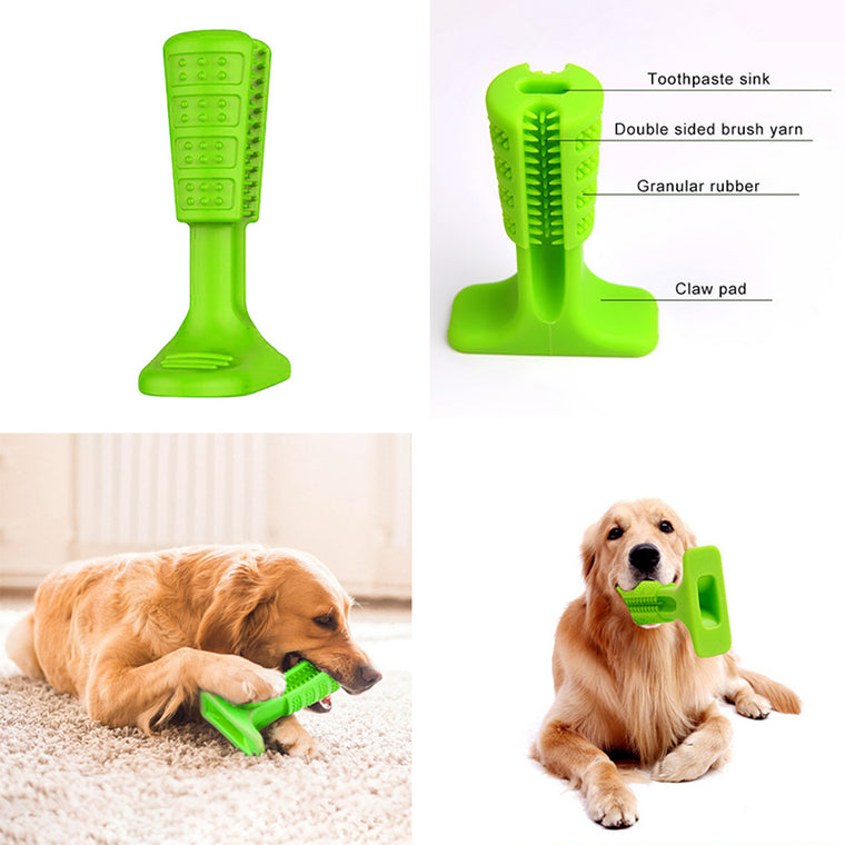 Pets Bristly Brushing Stick World's Most Effective Toothbrush for Dogs Hygiene Toy Bristly Brushing Stick Pet Molars Toothbrush