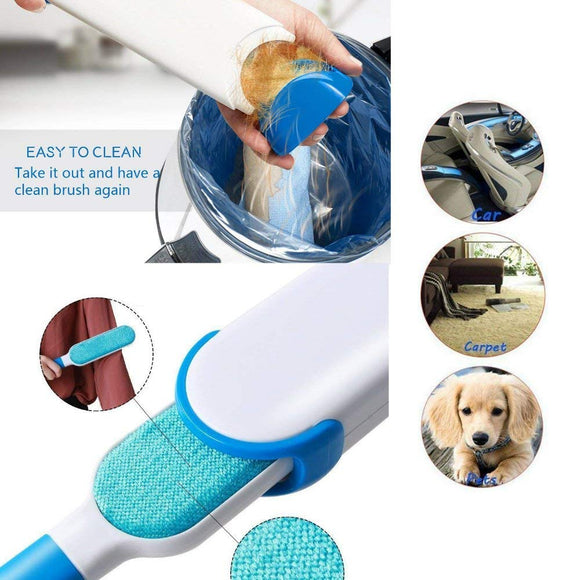 3 pcs 1 Click Pet Hair Remover